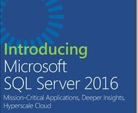 Introducing SQL Server 2016 Preview 2