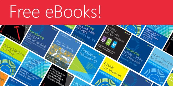 Microsoft Press Free eBooks