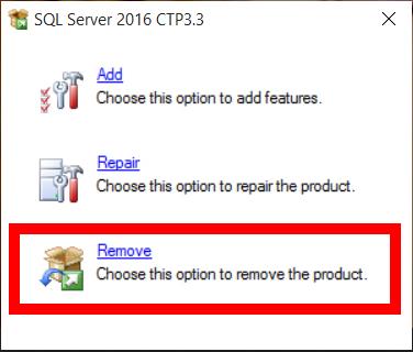 SQLServer 2016 non si avvia 15